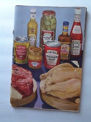 1937 recipe booklet from HEINZ CO. featuring their 57 PRODUCTS!!! 107 pages