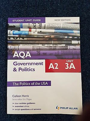 AQA Government and Politics Textbook for A2 Unit 3A