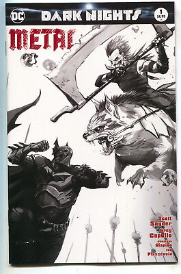 Dark Nights Metal 1 DC Francesco Mattina Prelim Sketch Variant Batman Joker