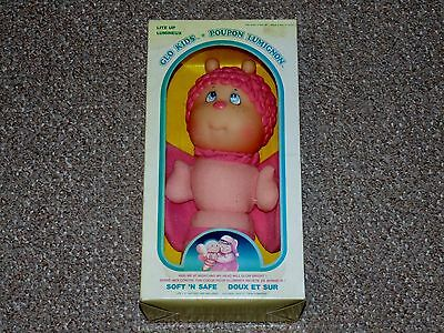 1985 Soma Glo Kids Butterfly with Box Glo Glow Worm Tested Working