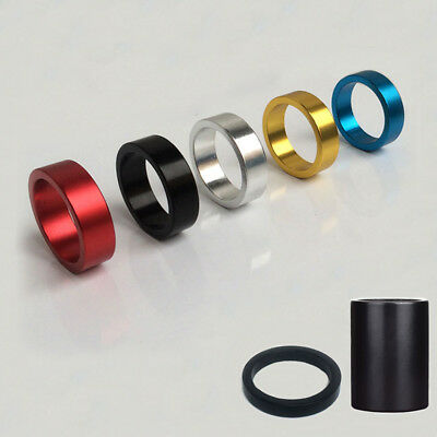 1-1/8'' Inch Aluminum Alloy Headset Spacer 5/10/50mm For MTB Bike Bicycle Stem
