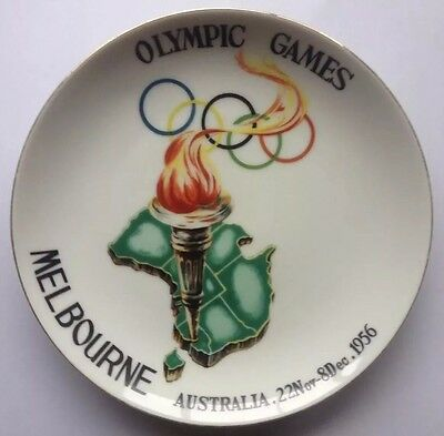 Melbourne 1956 Olympic Games Plate