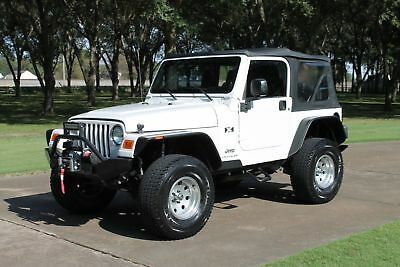 "2003 Jeep Wrangler  2 Owner Perfect Carfax 3"" Lift Wench Custom Wheels Fully Customized"