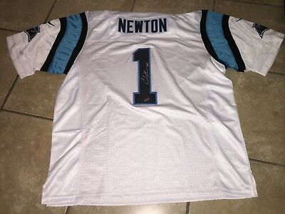 Cam Newton Autographed Panthers Football Jersey