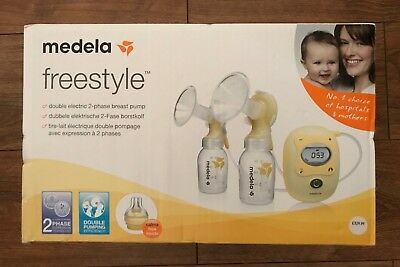 Medela Freestyle Hospital Standard Double Electric Breast Pump New Cost £330.00