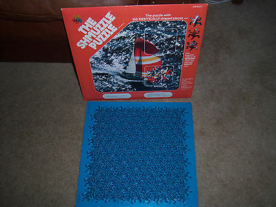 NEAT 1982 Vintage NEW  THE SHMUZZLE Jigsaw Puzzle 168 IDENTICALLY SHAPED PIECES