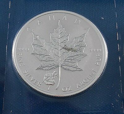 2016 Panda Privy Maple Leaf Reverse Proof 1 Ounce .9999 Silver Coin - Sealed