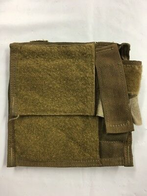USGI MBSS GP Pocket w/ Light Holder**ADMIN POUCH**Coyote**MOLLE**FSBE**Fair/Good