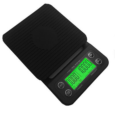 Electronic Cafe Scale  Digital Drip Scale Espresso and Pour Over Coffee Balance