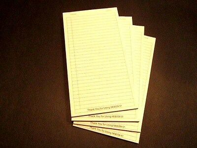 Wait Staff Server Book The Mobile Office - Refill Order Pads