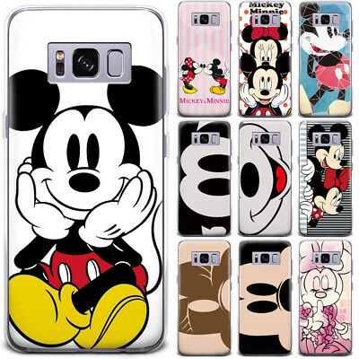 Disney Minnie Mickey Mouse Cartoon Patterned Phone Case Cover For Samsung Google