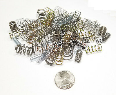 Small Compression Springs Variety Assorted Mixed Bag - Set of 100