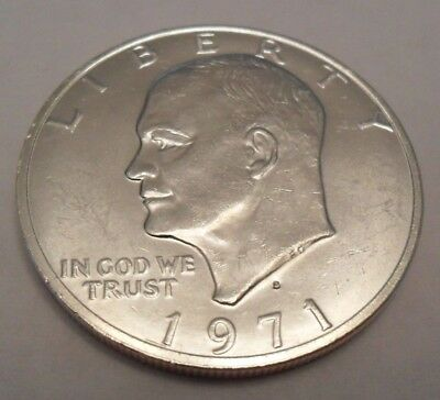 1971 S Eisenhower Dollar Coin   *40% Silver*   **free Shipping**