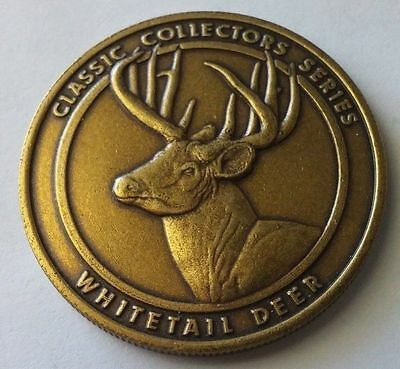 National Rifle Association (NRA) Classic Collectors Series Whitetail Deer Coin