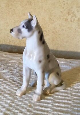 VINTAGE FIGURINE ROYAL COPENHAGEN B&G BING & GRONDAHL Great Dane Dog #2189