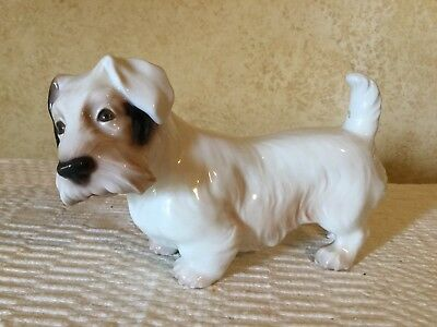 Vintage Royal Copenhagen Figurine B&g Bing & Grondahl Sealyham Terrier Dog