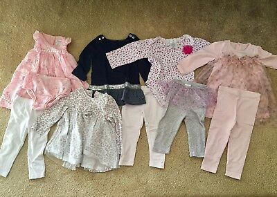 Huge Baby Girl 18mons Clothes New