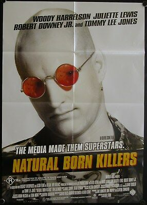 Natural Born Killers (1994) Australian One Sheet