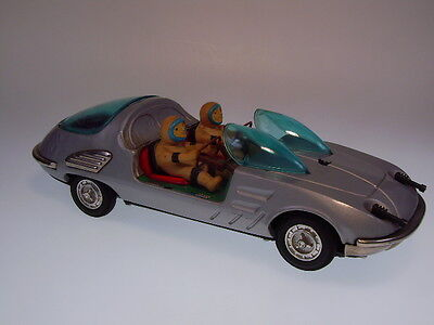 "Gsr Robot ""corvair Bertone Space Car""  Bo Ok ! Ultra Rare ! Sehr Gut/very Good !"