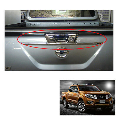 Tail Gate Tailgate Handle Cover Trim Chrome Fits Nissan NP300 Navara 2015 16 17
