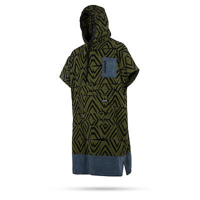 Mystic ALLOVER Print Poncho / Fleece / Changing Robe 2018 - Army
