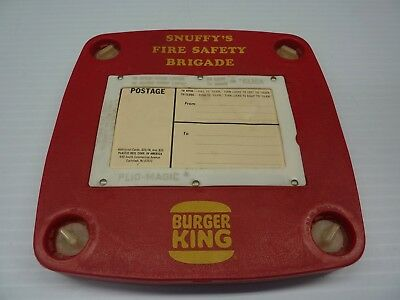 1980's Era Snuffy's Fire Safety Brigade 16mm Film Reel Burger King Franchise