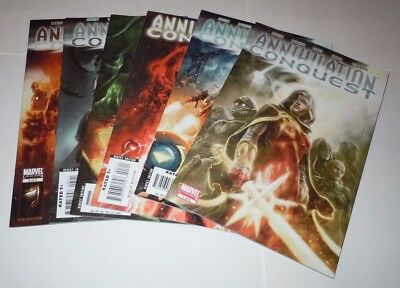 Annihilation Conquest 1 2 3 4 5 6 Comic SET Marvel 1st Guardians of the Galaxy