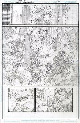 Suicide Squad: Rebirth issue 1 page 10 and 11 by Philip Tan 2 pages