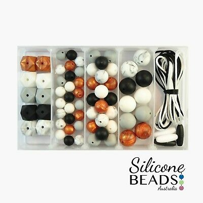 Midnight Copper Silicone Bead Starter Kit