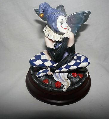 Pierre Pierrot Doll with Purple Wings