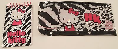 F.A.B Starpoint Hello Kitty pencil case/cosmetic bag With Memo Pad