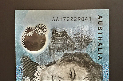 2017 BRAND NEW $10 Note ** AA17 ** FIRST PREFIX ** UNC!! with ** 222 ** Lot 2