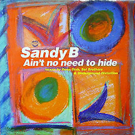 Sandy B - Ain't No Need To Hide - Champion - 1997 #13351