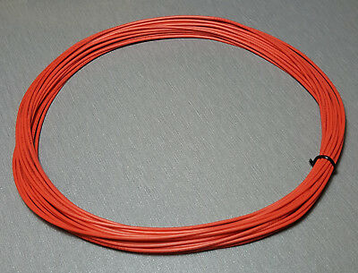 10 Metres ORANGE UL-1007 Hookup Wire 22AWG 1.6mm PVC insulator
