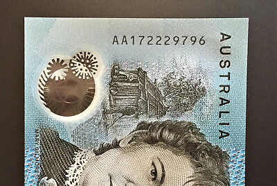 2017 BRAND NEW $10 Note ** AA17 ** FIRST PREFIX ** UNC!! with ** 222 ** Lot 3