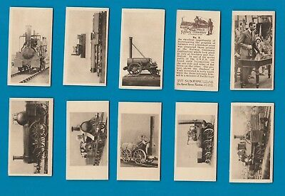 Tobacco cards cigarette cards The Railway Centenary A 1925