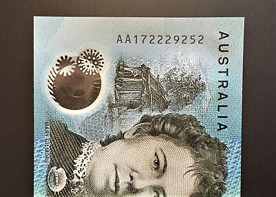 2017 BRAND NEW $10 Note ** AA17 ** FIRST PREFIX ** UNC!! with ** 222 ** Lot 4