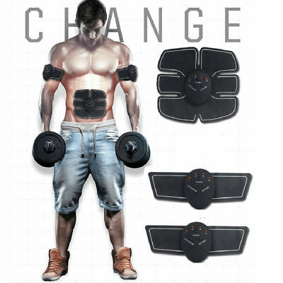 EMS Muscle Training Body Sixpack Fit Set ABS SixPad Electrical Muscle Simulation