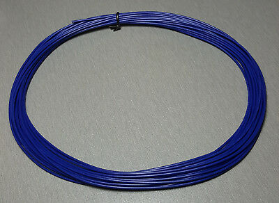 10 Metres BLUE UL-1007 Hookup Wire 22AWG 1.6mm PVC insulator