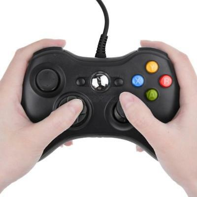 AU USB Wired Game Controller for Microsoft PC 360 Windows PC Console Gamepad