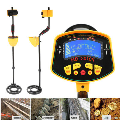 Underground Coins Gold Metal Detector Digger Treasure Hunter Tracker LCD he17