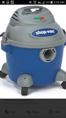 Shop-Vac. 6 Gal. 3 HP. Wet/Dry Compatible