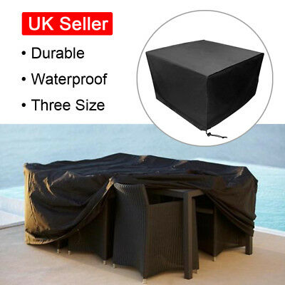 Waterproof Furniture Cover Rain Rattan Cube for Outdoors Garden Protection