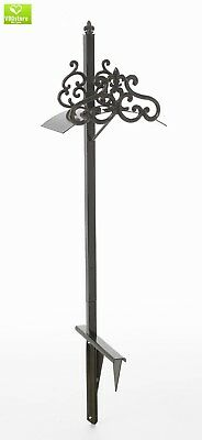 Liberty Garden Products 649-KD Hyde Park Decorative Metal Garden Hose Stand, Hol