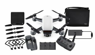 Drone DJI Spark Blanc - Pack Combo - Batteries,  Sacoche... - 12MP 1080p Video