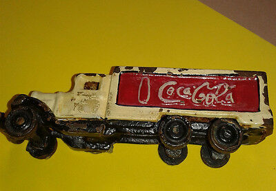 Camion Vintage  In Ghisa Coca Cola