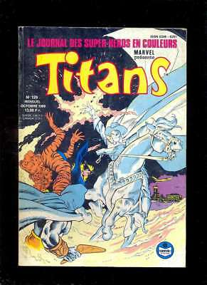 TITANS 129, octobre 1989 [SEMIC LUG MARVEL]