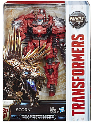 Transformers The Last Knight Premier Edition Voyager Scorn