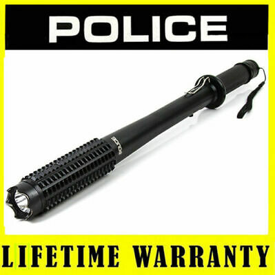 POLICE Stun Gun 1118 28 BV Max Voltage Metal Rechargeable LED Flashlight