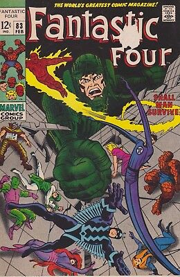 Fantastic Four #83 1969 Silver Age Marvel Comics Group